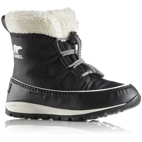Sorel Youth Whitney Carnival Boots Black/Sea Salt
